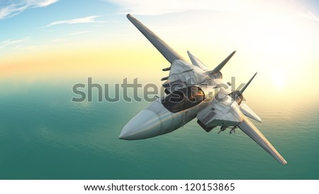 fighter - stock photo