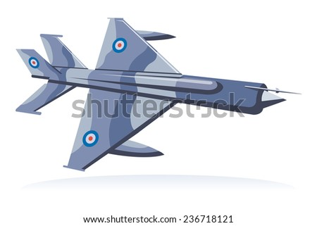 fighter jet, fighter aircraft  - stock photo