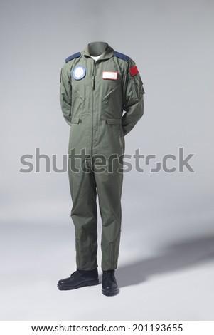 Fighter pilot - stock photo