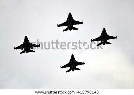 Fighters - stock photo