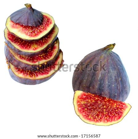 figs, isolated