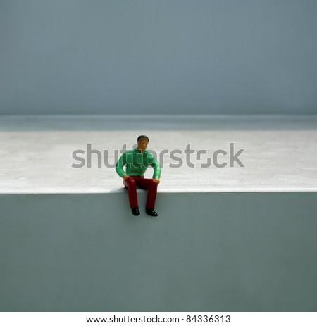 figurine miniature people lifestyle - stock photo
