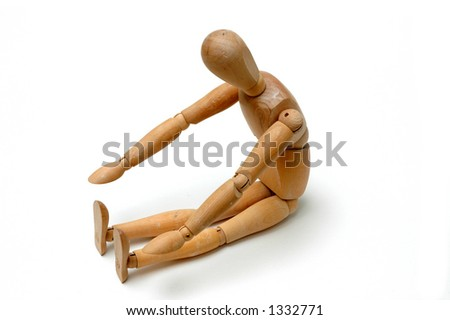 Figurine Pose - Sit and Reach