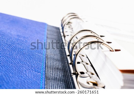 file binder,file folder - stock photo