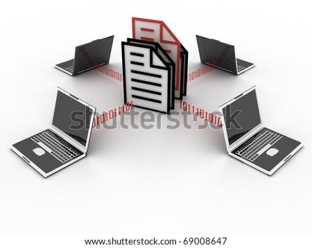 file concept - stock photo
