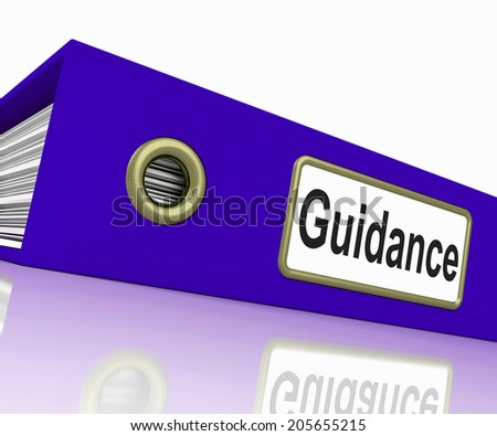 File Guidance Meaning Document Organized And Direct