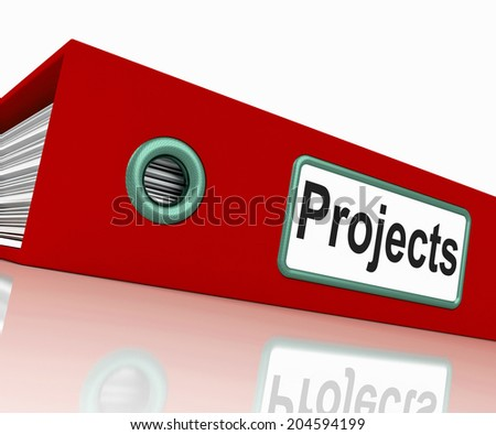 File Projects Meaning Mission Scheme And Document