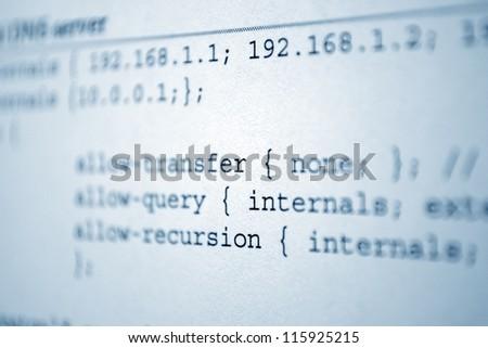 File transfer - stock photo