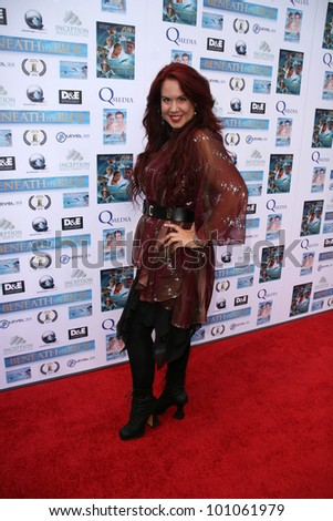 "Fileena Bahris at a screening of ""Beneath the Blue"" at the Hollywood Film Festival, Arclight, Hollywood, CA. 10-23-10"