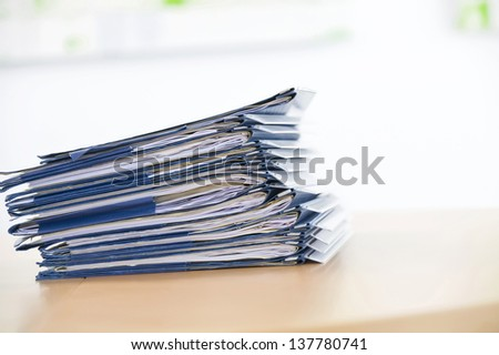 files - stock photo
