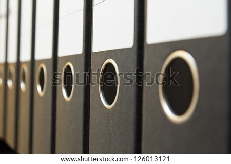 files folder - stock photo