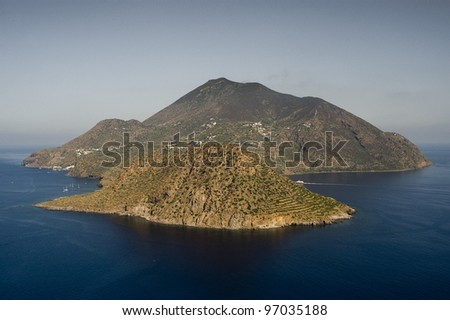 filicudi island, eolie, messina, sicily, italy, europe