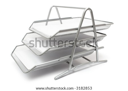 Filing System - stock photo