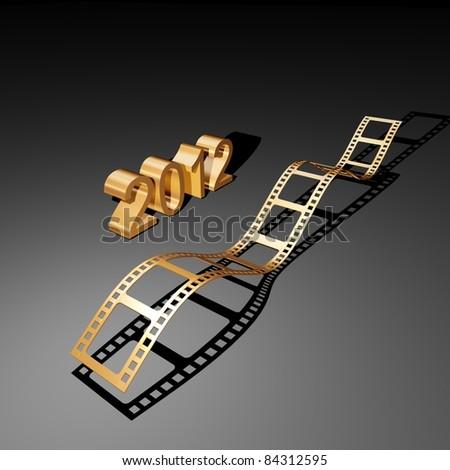 film 2012 - stock photo