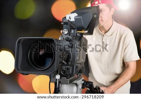 Film, camera, video. - stock photo