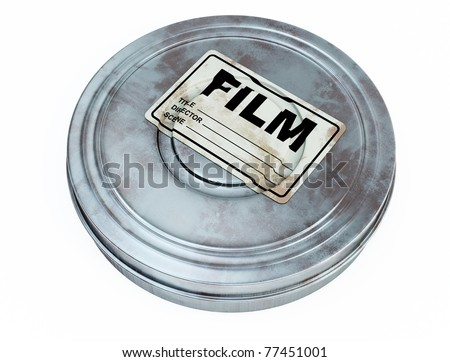 film can - stock photo