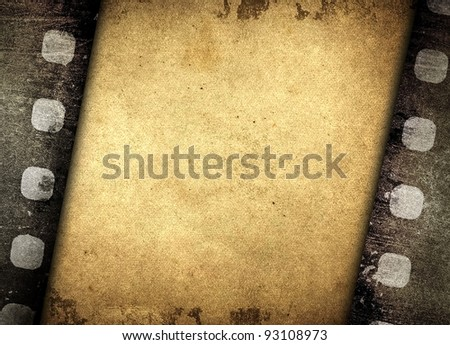 film design background - stock photo
