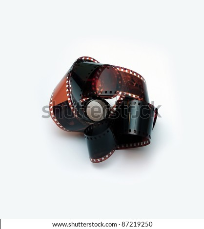 film for the 35mm camera - stock photo