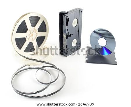 film format - stock photo