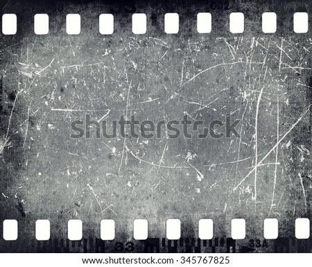 Film frame texture - stock photo