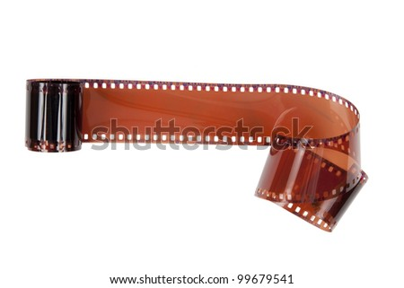 film  on  white background