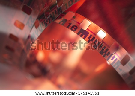 Film reel - stock photo