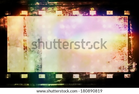 film roll background and texture - stock photo