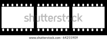 film slides - stock photo