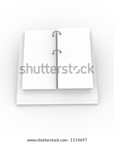 filofax ready for your message - stock photo
