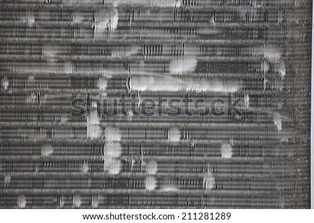 filter air conditioner texture - stock photo