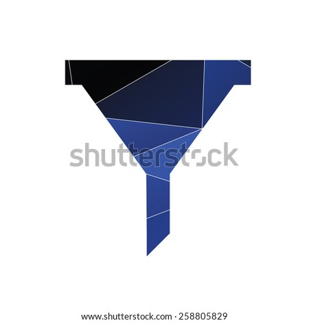 filter icon Abstract Triangle Geometrical background