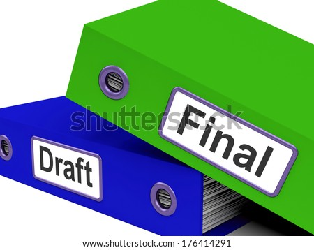 Final Draft Folders Meaning Edit And Rewrite Document