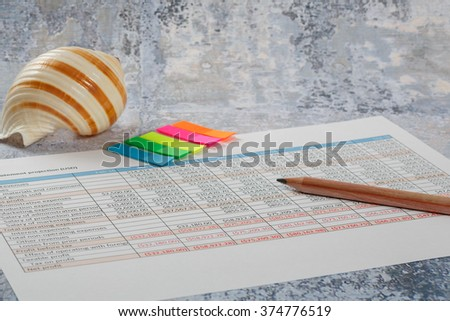 Finance and accounting business, start up, consulting - stock photo