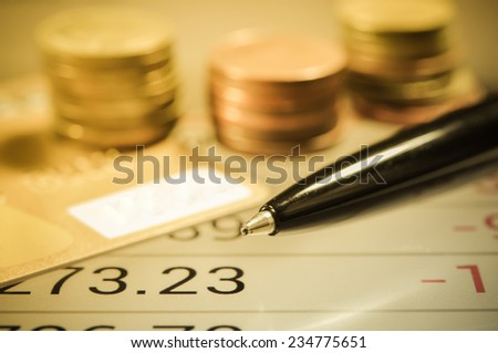 Finance and Banking concept. - stock photo