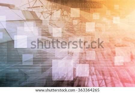 Finance Background as a Creative Concept Art - stock photo