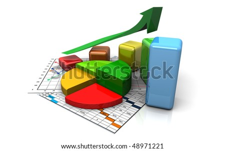 finance bar, chart, diagram, graph