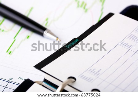 finance conceptual image; diagram picture