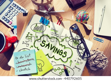 Finance Earnings Wealth Invest Asset Concept - stock photo