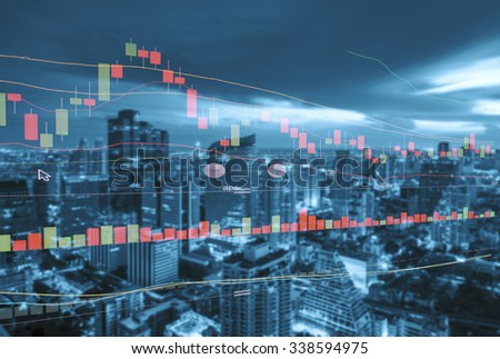 Finance growth Concept - stock photo