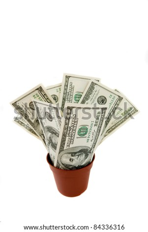 Finance money - stock photo