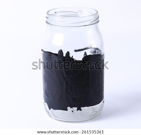 Finance, money. Jar for coins - stock photo