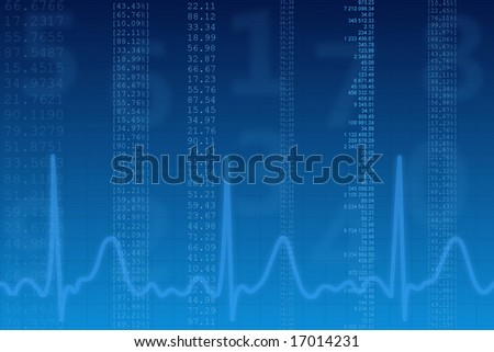 finance report - stock photo