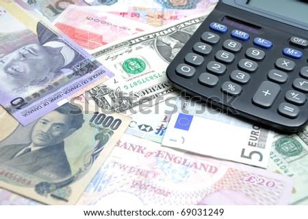 Finance your money - stock photo