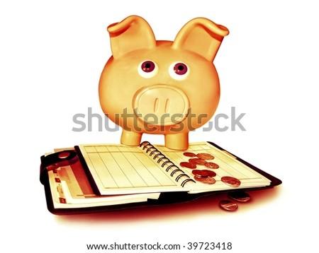 Finances - stock photo