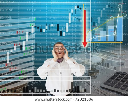 finances business - stock photo