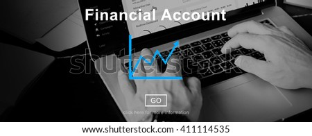 Financial Account Report Finance Record Online Concept