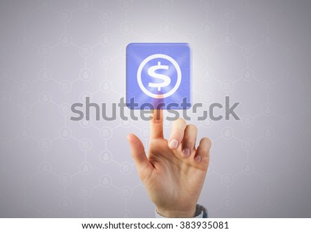 Financial appliocation icon