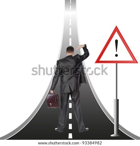 Financial business. The concept - stock photo