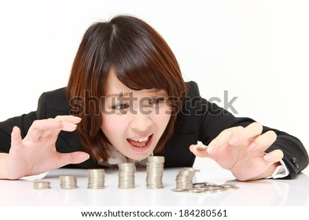 Financial collapse - stock photo
