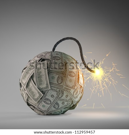 Financial crisis - an old bomb with a fuse made out of dollar bills